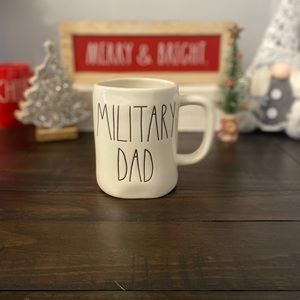 NWT Rae Dunn MILITARY DAD Mug